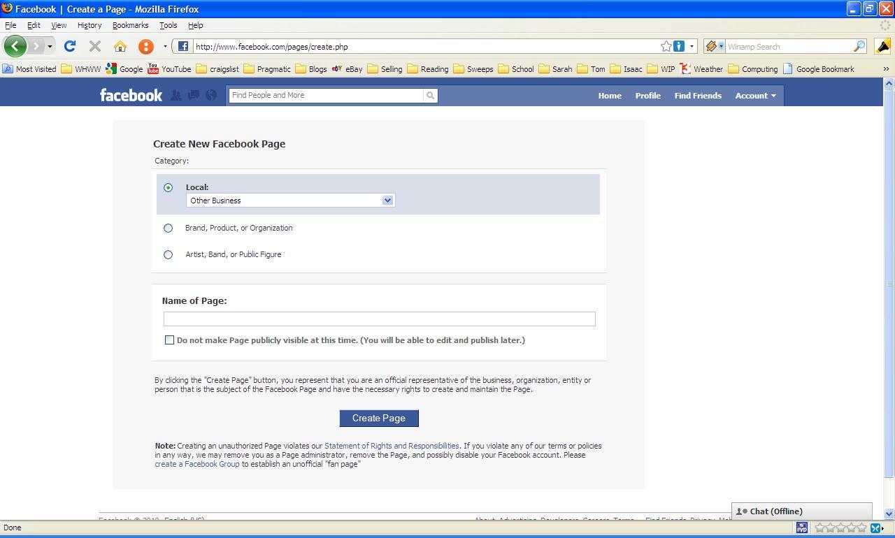 How To Create A Facebook Autos Weblog