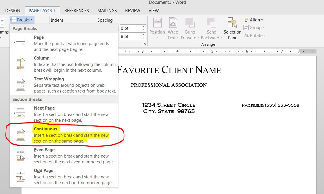 Prevent Editing In A Section Of A Ms Word Templatedocument